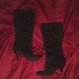 Fergalicious Black Boots 10